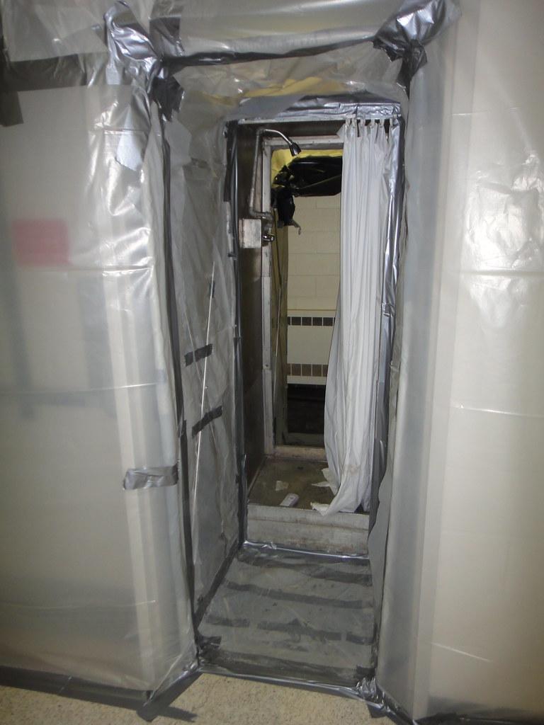 Decontamination Unit Set Up A Look Through A Typical 3