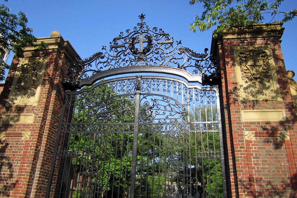 Cambridge Harvard Square Harvard University Johnston