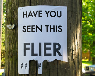 Have You Seen This Flier | by prima seadiva-moving slow