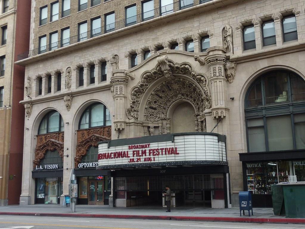Broadway, Million Dollar Theatre, exterior | en.wikipedia ...