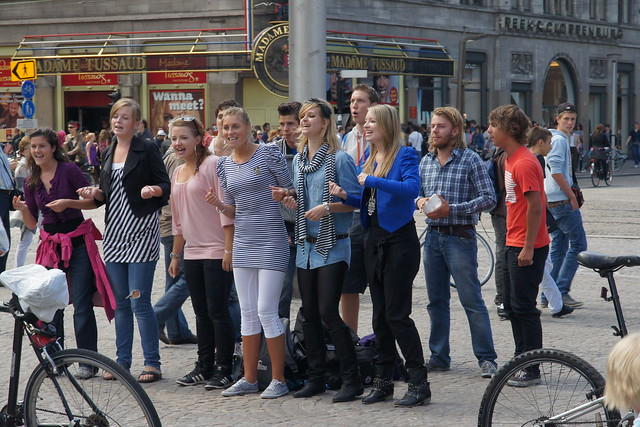 Students in Amsterdam