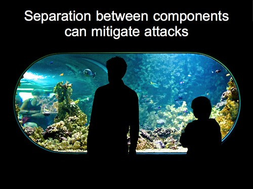 Separation between components can mitigate attacks | by Terriko