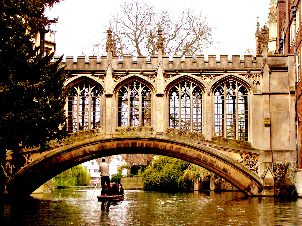 bridge of sighs cambridge clicked while punting on river flickr. Black Bedroom Furniture Sets. Home Design Ideas