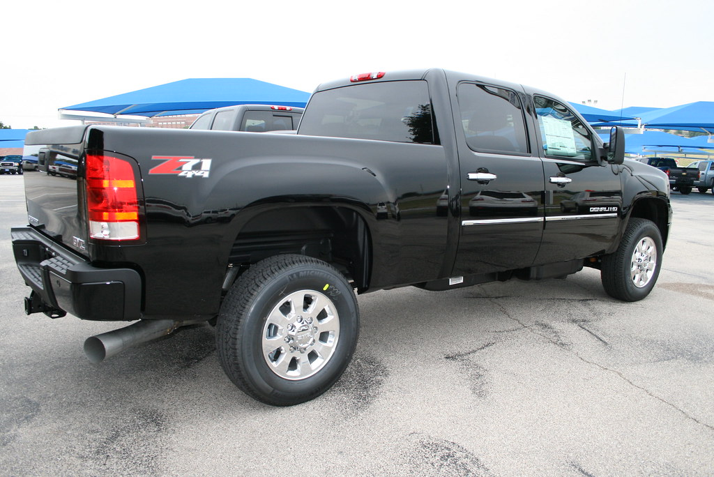 All New 2011 GMC Sierra 2500HD Denali Diesel at Dallas Ft ...