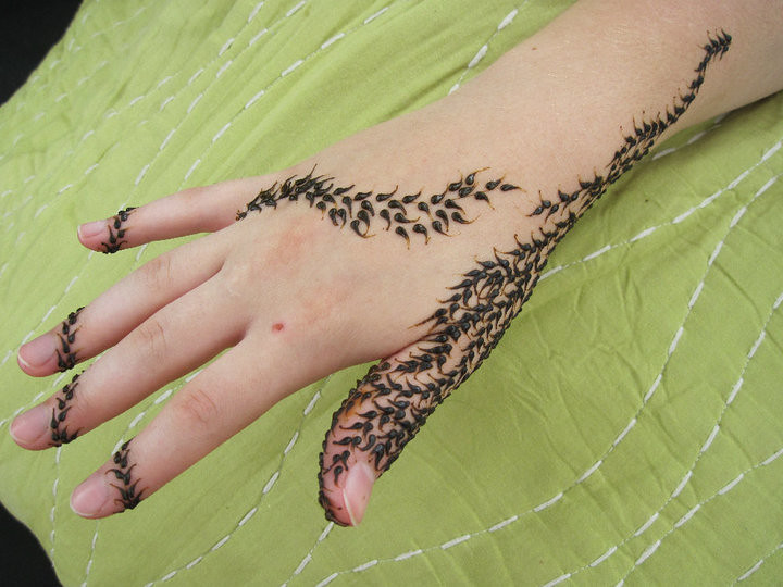 Vines Asha Savla Design Volcano Henna By Melissa Banford Flickr