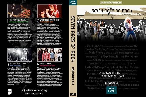 Seven Ages Seven Ages of Rock Bbc 1-4