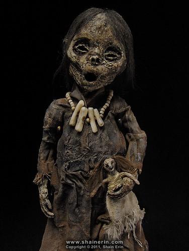 Mummy Art Doll Sculpture M32 Mummy Art Doll Sculpture