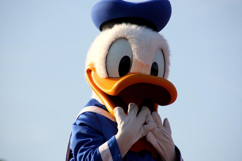 Donald Duck Disneyland Paris Photos Girados Flickr