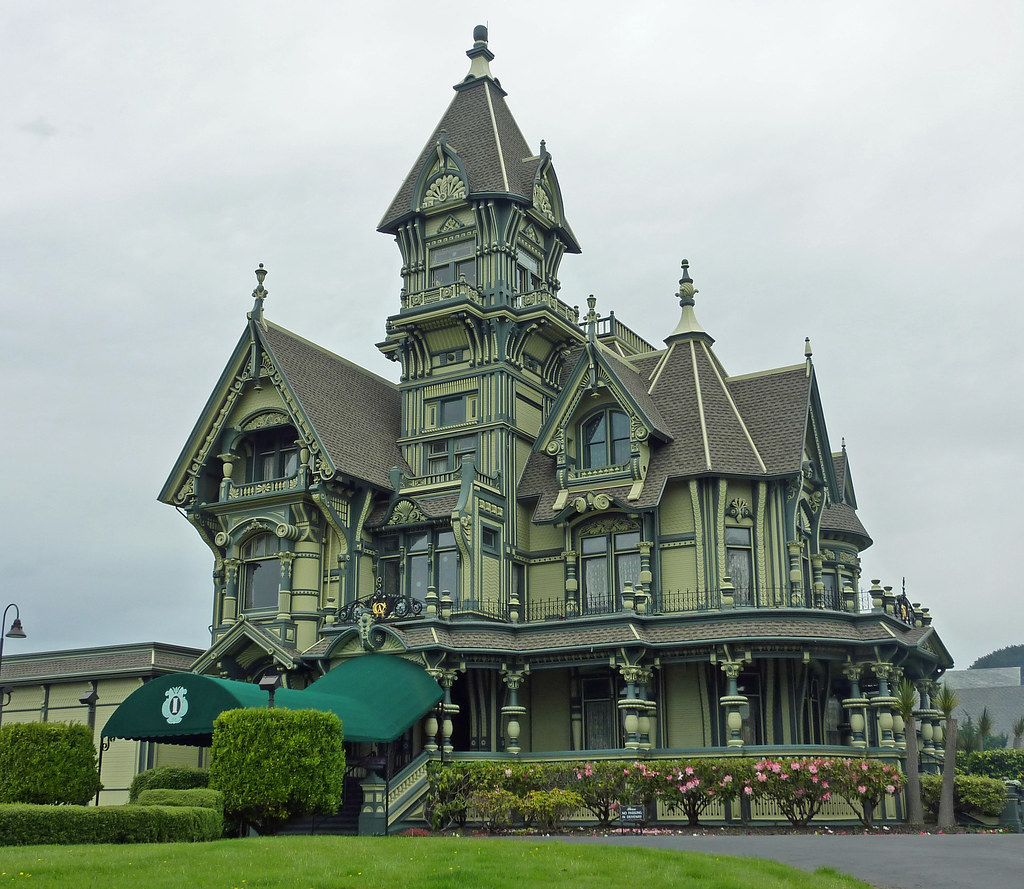 Carson Mansion In Eureka Ca Eureka Is A Fairly Large