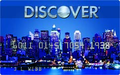 Beach Design For Discover Card
