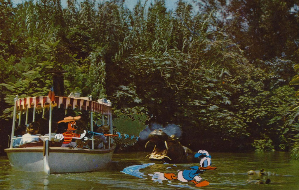 Disneyland jungle river cruise anaheim california flickr for Jungle furniture white river