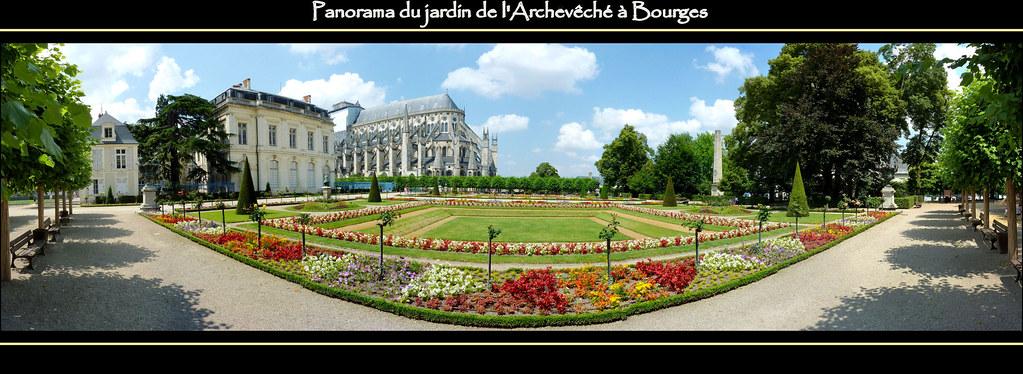 View 180 panorama jardin de l 39 archev ch bourges flickr for Le jardin des fleurs bourges