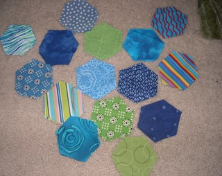 hexagons for my dqs9 project | by vickivictoria