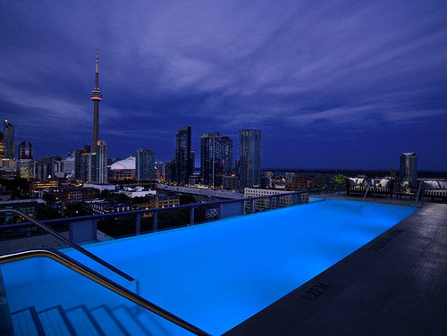 Thompson Toronto Rooftop Pool | by Thompson Hotels