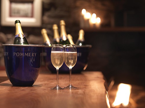 Celebrate with Champagne | by The Kilberry Inn