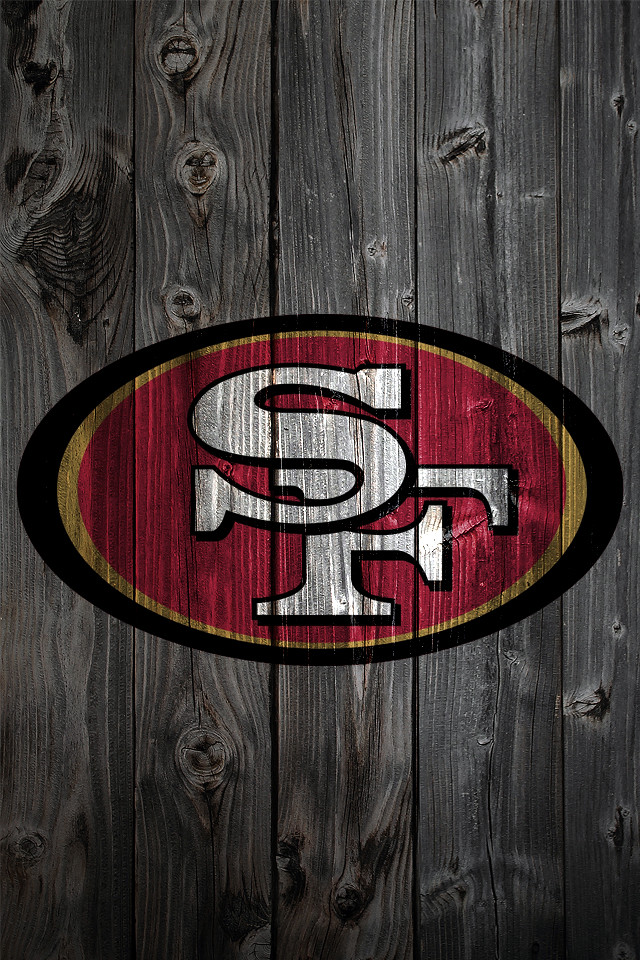 San francisco 49ers wood iphone 4 background san - San francisco iphone wallpaper ...