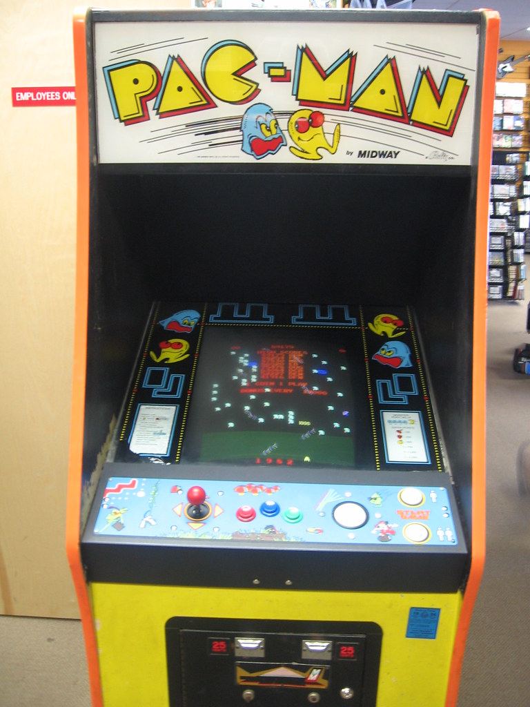 pac man arcade cabinet pac arcade cabinet museum amp 24218