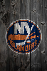 New York Islanders Wood IPhone 4 Background