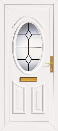 Kenilworth one queen anne lead upvc front door coastline for Upvc front door 78 x 30