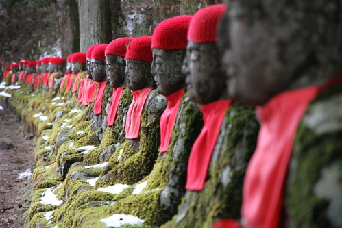 A sitting Jizo gathers much moss! | by Marquisde