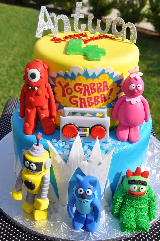 Yo Gabba Gabba Cake | Yo Gabba Gabba Cake with sculpted ...