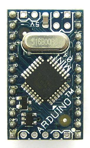 Arduino mini cc en main arduinoboardmini david