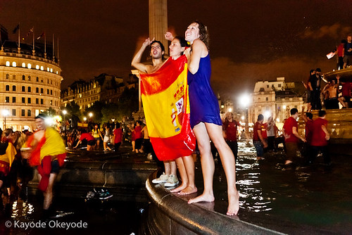 World Cup 2010:  Spanish Victory Celebrations (4) | by kayodeok