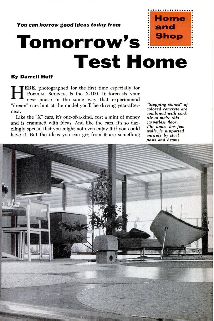 X 100 tomorrow 39 s test home page 1 of 6 architects a for Tomorrow s home