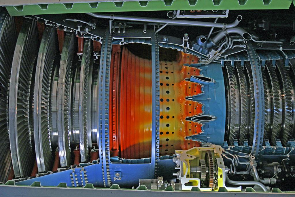 Jet Engine | Jet Engine Cross Section | fourstuarts | Flickr