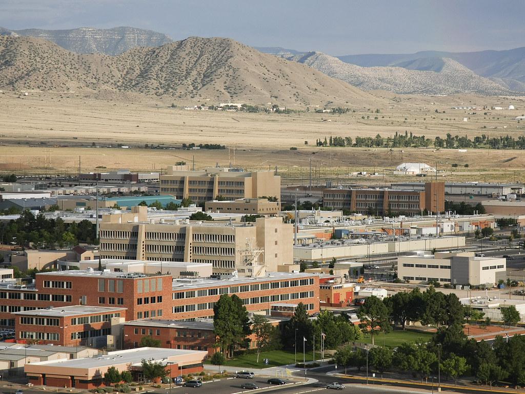 Aerial View Of Sandia National Laboratories Albuquerque