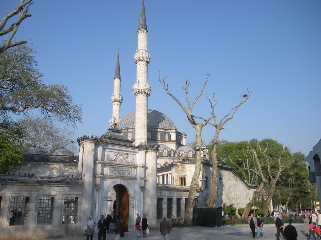 Eyüp Sultan Mosque  Eyüp - Istanbul - Turkey The mosque ...