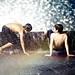 Water fountain fun 7/11