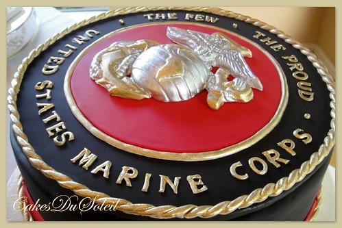 Cake Ideas For Marine Corps