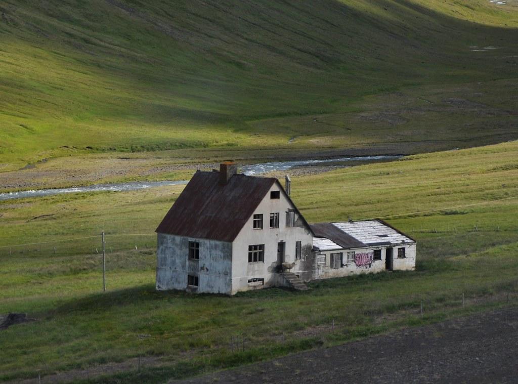 abandoned iceland house 2010 bakkasel we visited