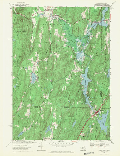 Wales Quadrangle 1967 - USGS Topographic Map 1:24,000 | by uconnlibrariesmagic