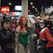 Batman villians Catwoman, Poison Ivy, Harley Quinn and Joker