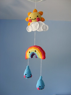 Kawaii Crochet Mobile | by FizzPopBang
