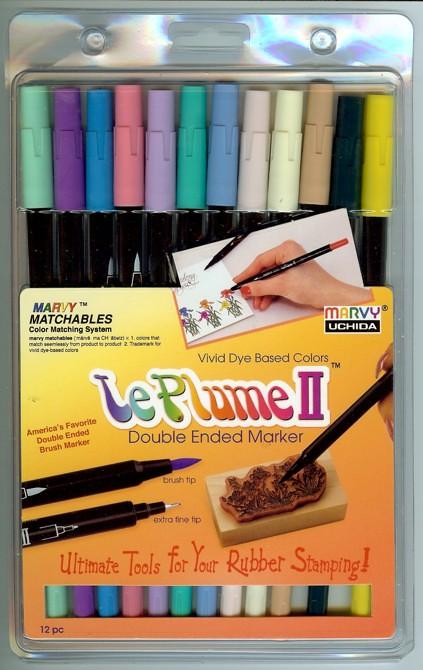 Leplume Scrapbooking Pens I Love For Coloring Zentangles Flickr