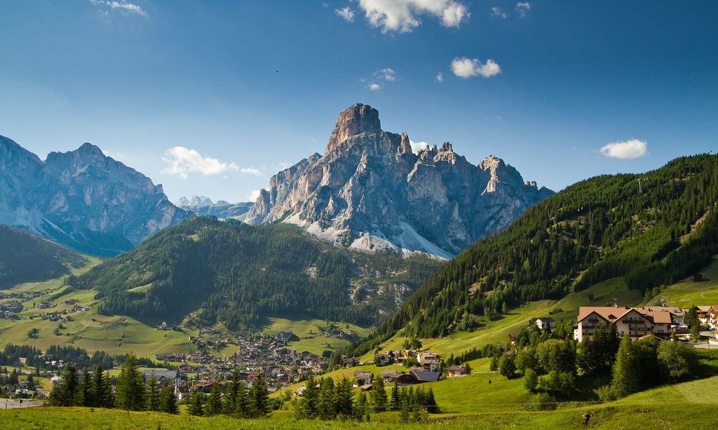Corvara In Badia - Dolomites, Italy Stock Photo, Picture And ...