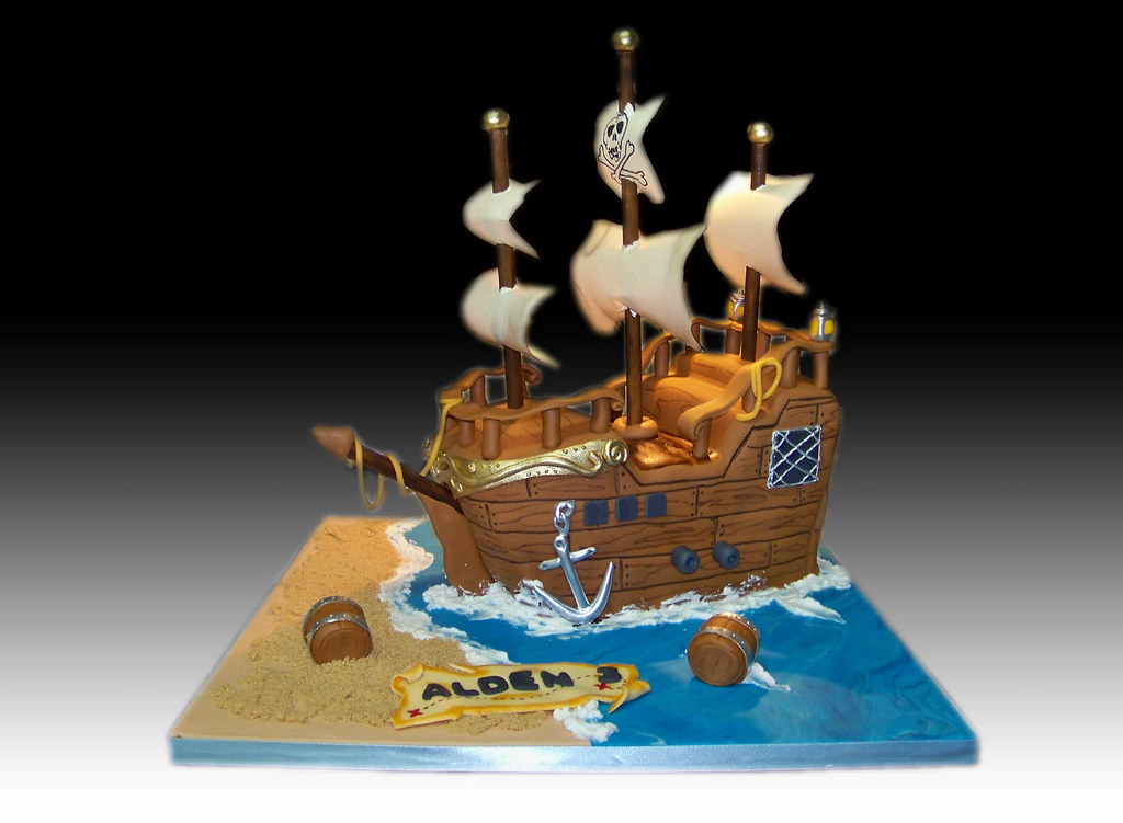 Pirate Cake Images