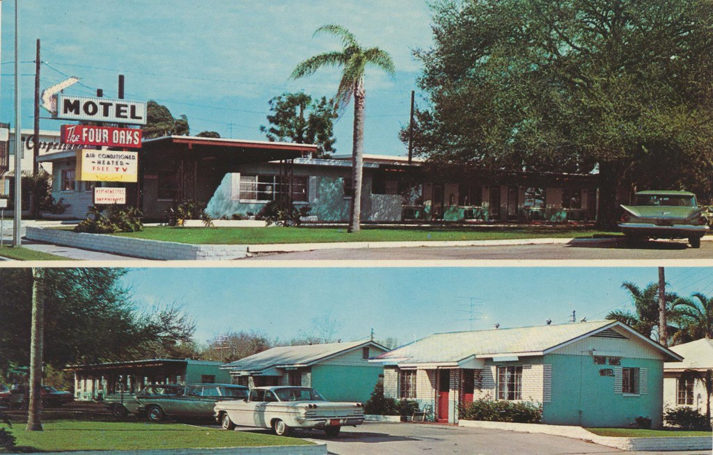Four Oaks Motel - Clearwater, Florida
