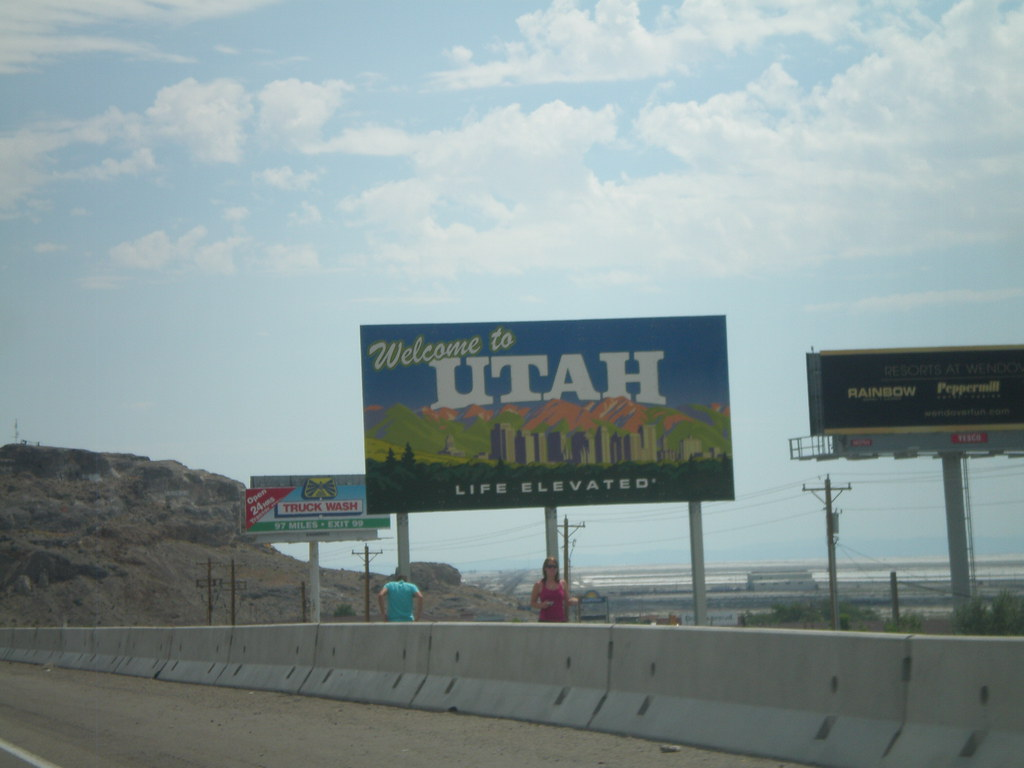 I-80 East - Welcome To Utah | Welcome to Utah on I-80 east. … | Flickr