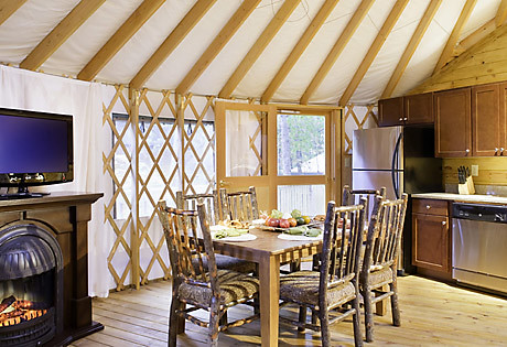 ... Yurt Kitchen   Shenandoah Crossing™ | By OutdoorTraveler