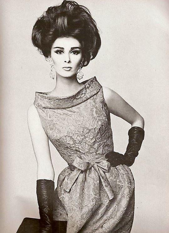 Pierre Cardin Model Wilhelmina Cooper Wearing Pierre Cardi Flickr