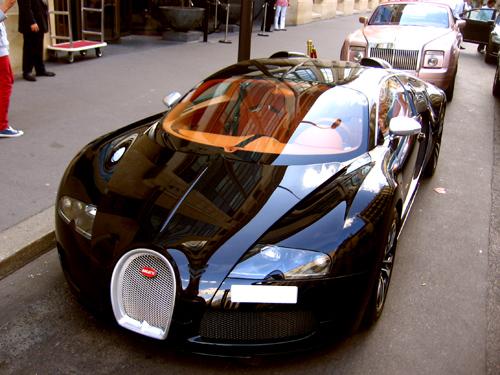 Bugatti Veyron 16.4 Sang Noir | Rue de Courcelles, Paris | Flickr