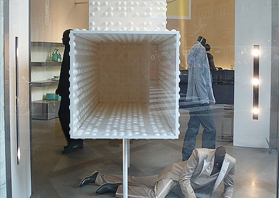 ... Calvin Klein Braille Wall Flat Window Display | By Inhabit Living