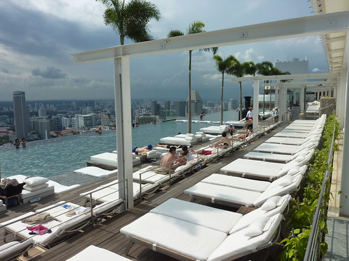 Marina Bay Sands Rooftop Swimming Pool Kfcatles Flickr