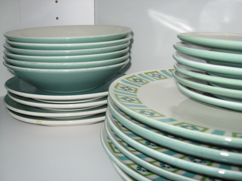 Bombay Green dinnerware | Soup bowls, accent salad plates, s… | Flickr