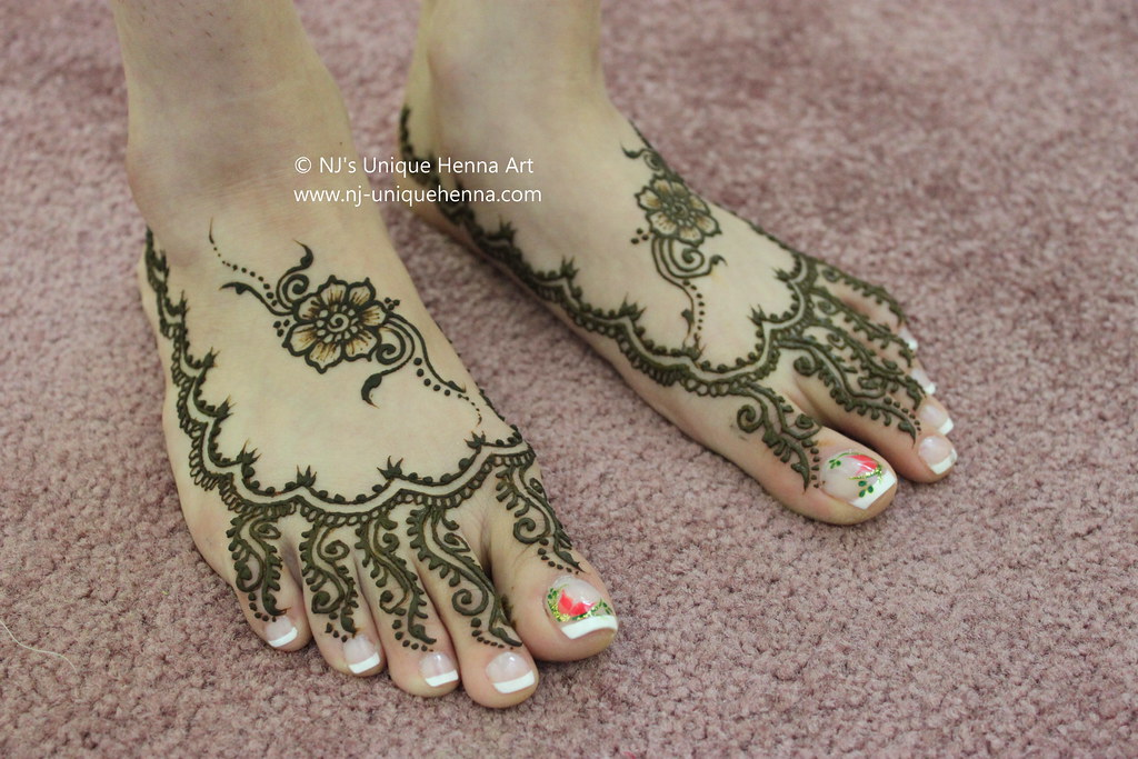 Bridal Mehndi Nj : Amandeeps bridal henna feet 2010 © njs unique art flickr