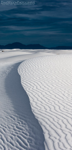 Rippled Ridge, White Sands, New Mexico | by DaveWilsonPhotography